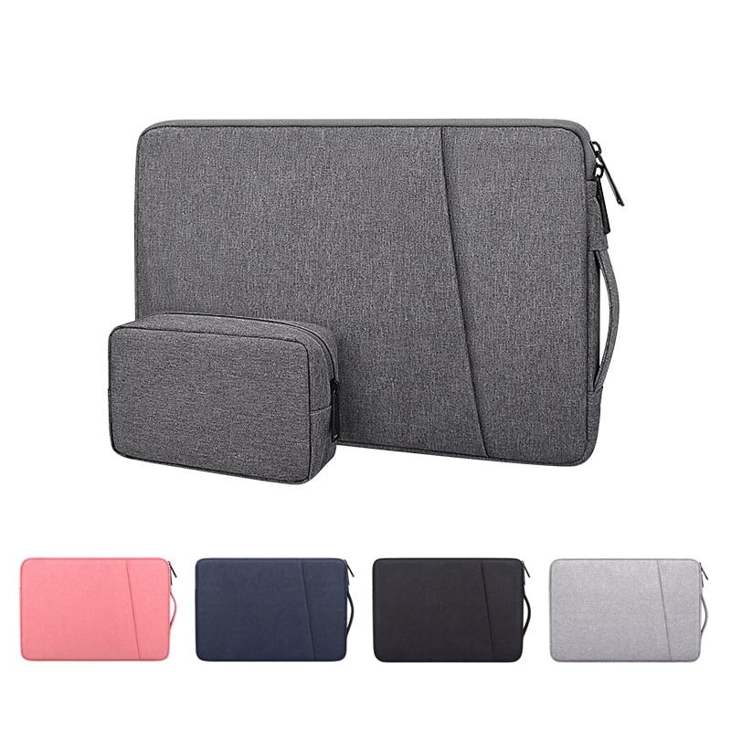 Водонепроницаемая сумка для ноутбука 13, 14, 15, 15,6, 16 дюймов, чехол для ноутбука, ручная сумка, чехол для Macbook Air Pro, HP, Acer, Asus, Huawei Matebook Sleeve