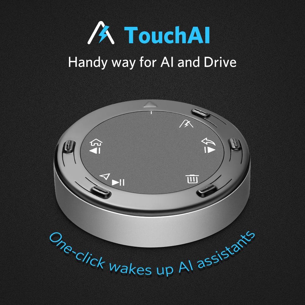 Tsumbay Ai01 TouchAI bluetooth автомобильный комплект свободные руки беспроводной в автомобиле управление для смартфона музыкальный плеер навигация Ун...