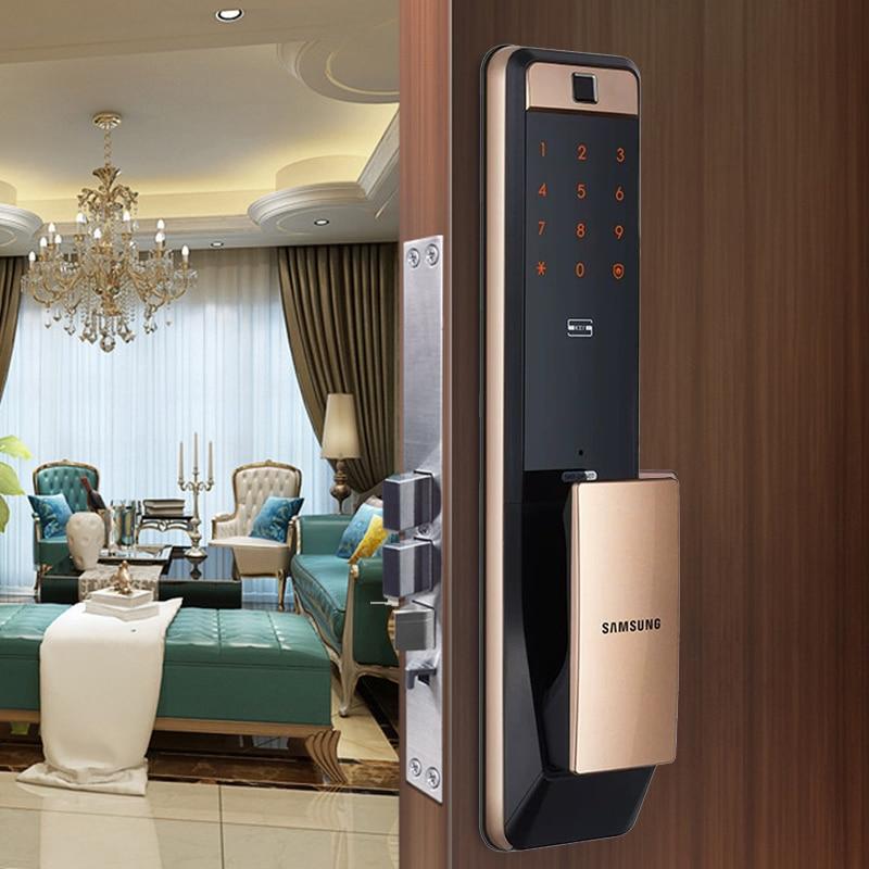 2019 NEW SAMSUNG Digital Fingerprint Door Lock SHP-DP607/SHP-DP609 English Verion Eurp Moritse