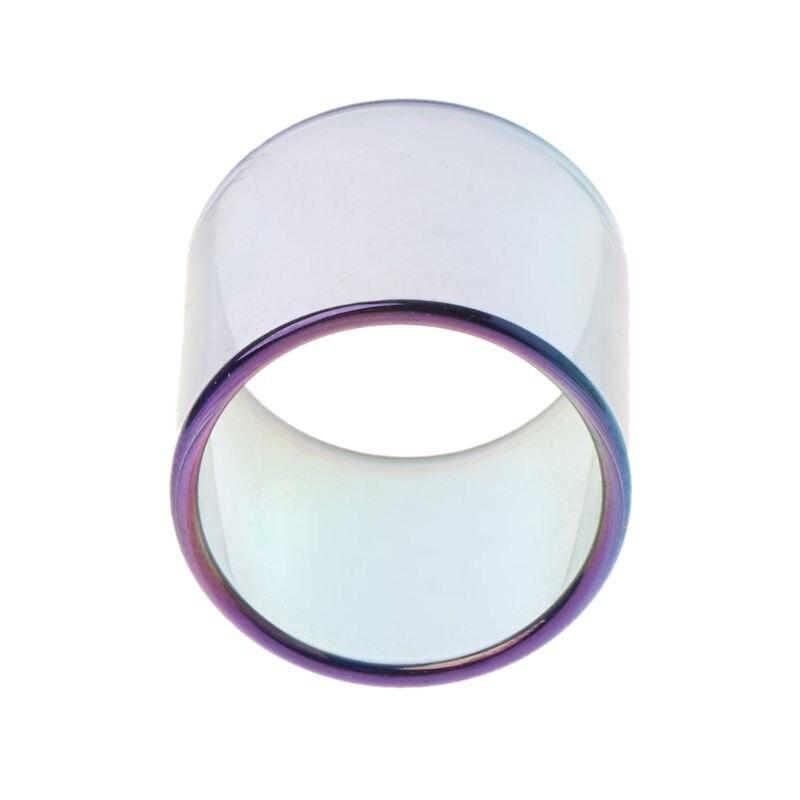 Rainbow Color Replacement Pyrex Glass Tube Glass Tank For Smok Vape Pen 22 PXPE