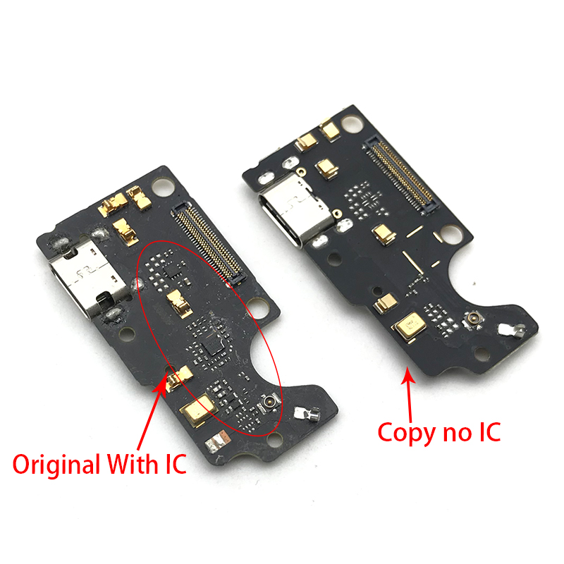 Dock Connector Micro USB Charger Charging Port Flex Cable Microphone Board For ZTE Axon 7 A2017