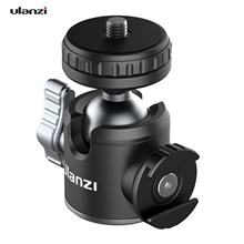 Ulanzi U 60L/U 80/U 80L Arca Swiss Side Cold Shoe Ball Head Arca Swiss Quick Release Plate 1/4 Inch Screw for DSLR ILDC Camera