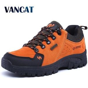 Image 1 - 2019 Outdoor  Men Shoes Comfortable Casual Shoes Men Fashion Breathable Flats For Men Trainers zapatillas zapatos hombre