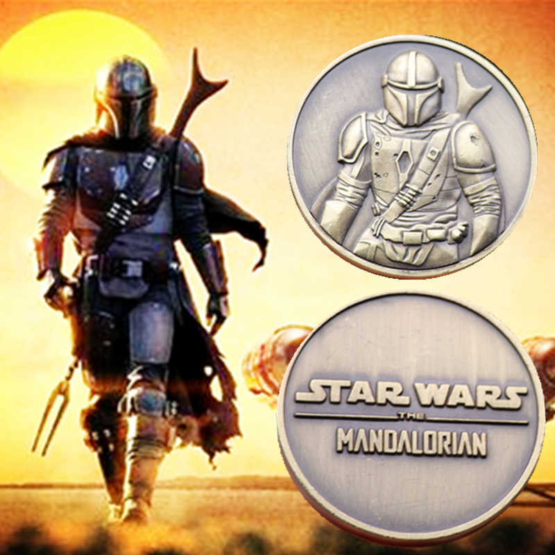Movies TV Shows Star Wars 9 The Rise of Skywalker Mandalorian Commemorative  Coin Alloy Collectible Toys Christmas Halloween Gift| | - AliExpress
