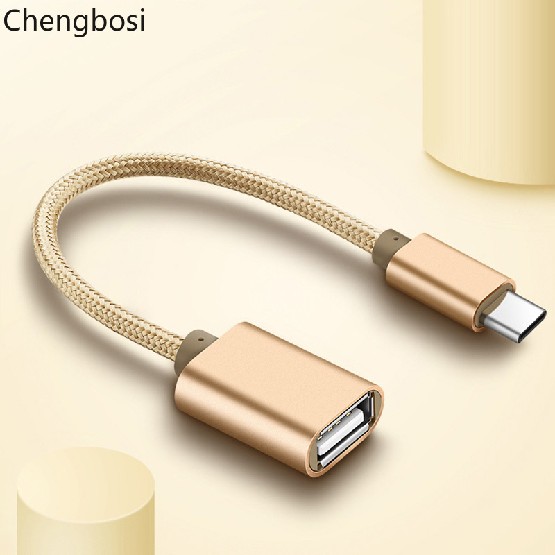 Brand Type C USB 3.1 Male To OTG Type-A Female Adapter Cord For Android LeTV Huawei Oppo Vivo Tablet PC Samsung Smartphone