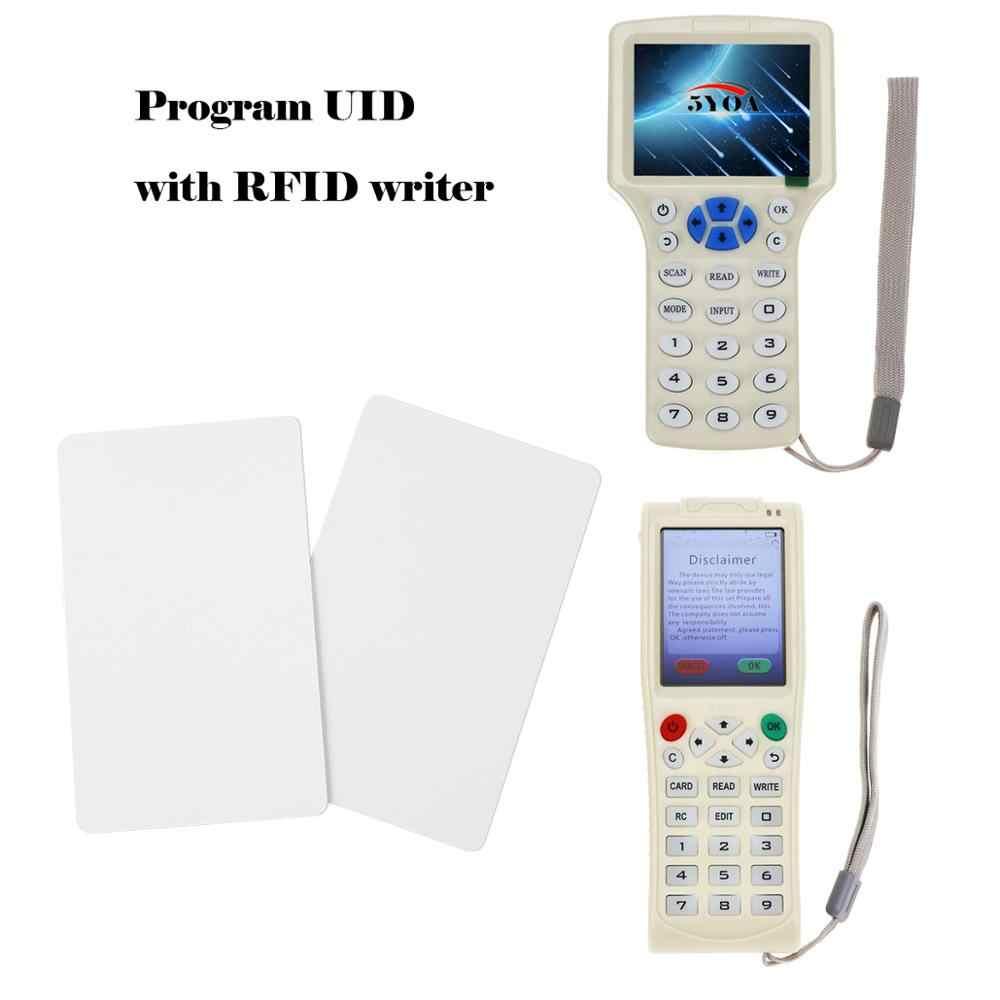 100 Uds tarjeta UID 13,56 MHz bloque 0 Sector tarjetas IC grabables Clone llaves inteligentes intercambiables clave etiquetas 1K S50 RFID Control de acceso