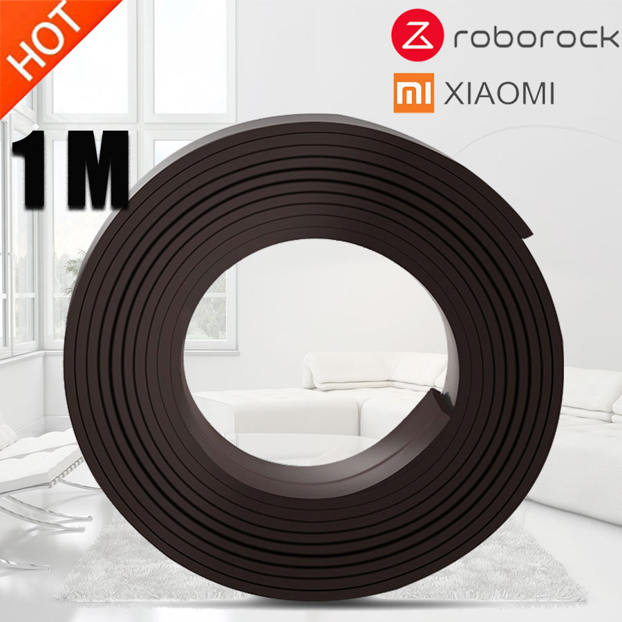 1m Thickening Robotic Virtual Magnetic Stripes Protective Wall For Xiaomi MI Robot Cleaner Not Dust Brush For Neato VR200