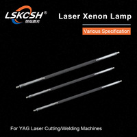 LSKCSH Xenon Lamp With soft wire Xe IPL 7x120x230 for Han's Aohua YAG Laser Welding Machines 1064nm