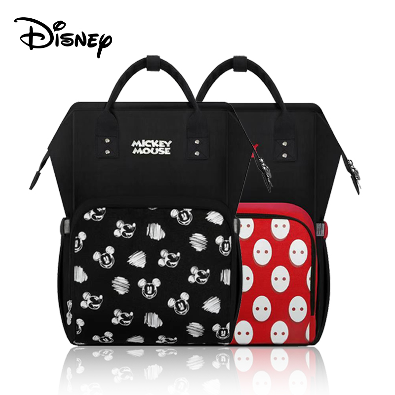 Disney Minnie Mickey USB Diaper Bag Backpack Maternity Bag For Baby Care Baternity/Nappy Bag Mummy Handbags Pre-design 2020 New