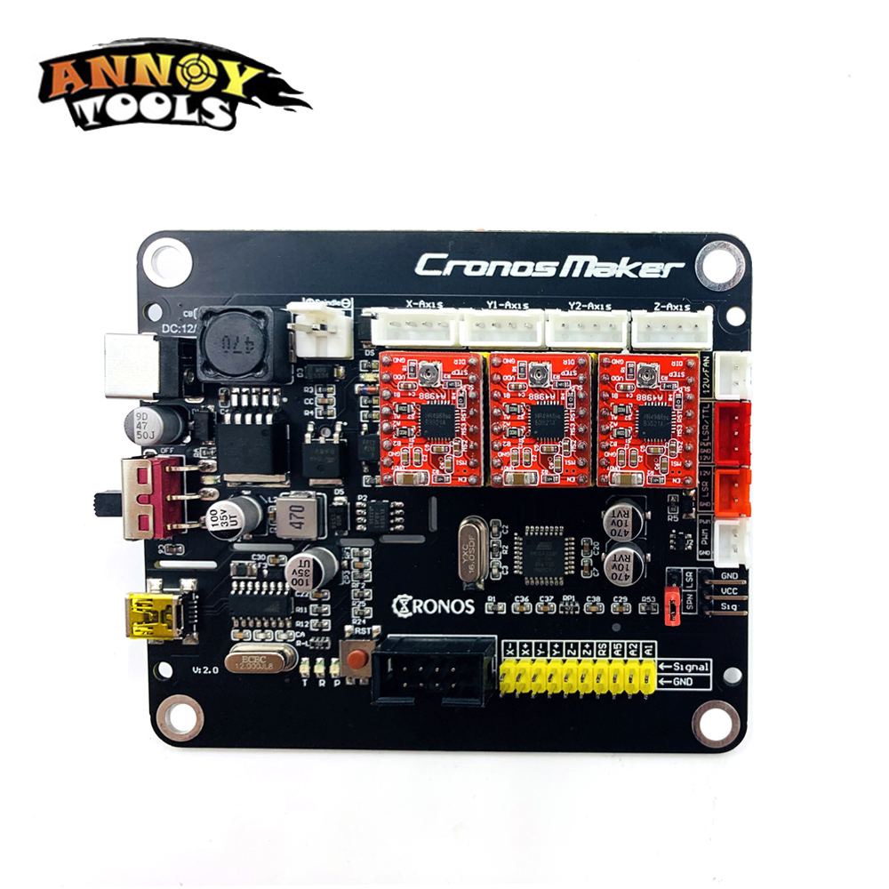 CNC 3018pro 3 Axis Controller Driver Board GRBL 1.1 Offline Controller Limit Switch For CNC Router CNC Engraving Machine