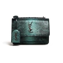 цена на Women's Messenger bag snake Print shoulder bag retro Crossbody Bags ladies bag metal fringe pu leather girl beach Handbags Bolsa