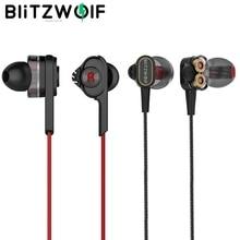 Blitzwolf 3.5 Mm Wired Oortelefoon Met Microfoon In Ear Oordopjes Koptelefoon Met Microfoon Universal Voor Samsung Voor Iphone 6 S Smartphone