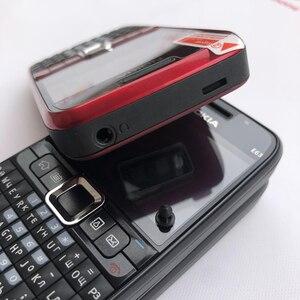 Image 5 - 100% الأصلي نوكيا E63 3G مقفلة الهاتف المحمول واي فاي بلوتوث لوحة المفاتيح QWERTY الهاتف المحمول ولوحة المفاتيح العربية الروسية