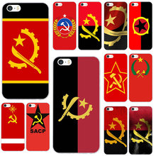 Angola Flag Soft TPU Silicon Phone Cases for iPhone