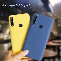 На Алиэкспресс купить чехол для смартфона for huawei honor 9c 2020 case cover silicone frosted soft tpu 3d on honor 9c russian version back cover case for huawei honor 9c