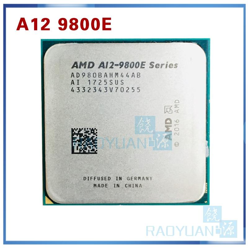 AMD  A12-9800E desktop CPU  AD980BAHM44AB Socket AM4 35W TDP 4 cores