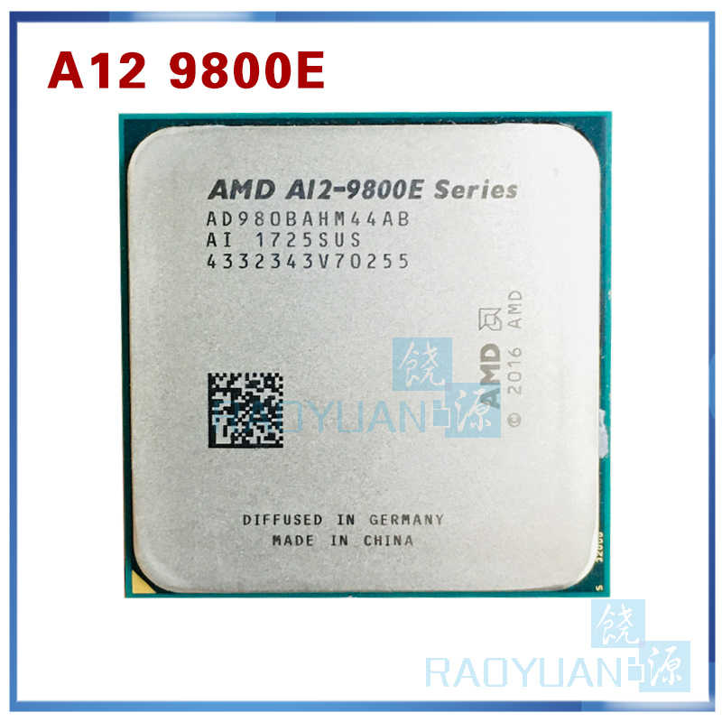AMD A12-Series A12-9800E A12 9800E 3.1GHz Quad-Core procesor cpu AD9800AHM44AB AD980BAHM44ABSocket AM4 już dziś, A12 9800
