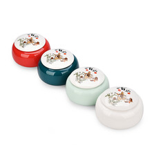 Ceramic  kitchen canisters tea storage box canister set container ceramic jars with lids puer D136