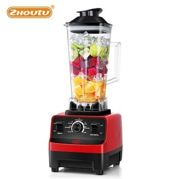 Zhoutu High Power Blender Mixer,Heavy Commercial Blender,Juicer without BPA, Smoothie Milkshake Bar Fruit Food Processor 1000W