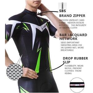 Image 2 - X TIGERサイクリングジャージマンマウンテンバイク服速ドライレースmtb自転車服制服breathaleサイクリング服着用
