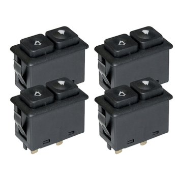 4Pcs Power Window Sunroof Switch Illuminated For Bmw E30 E24 E28 From 09/1986 61311381205 / 61 31 1 381 205 image