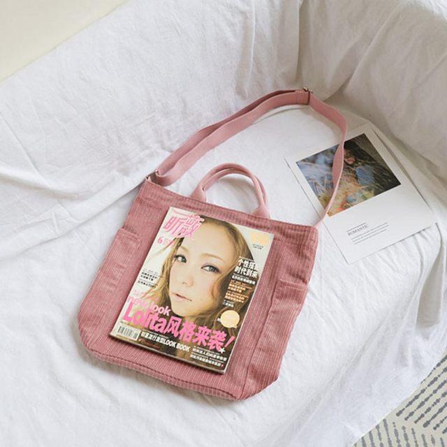 Large Capacity Cloth Handbag  women 5