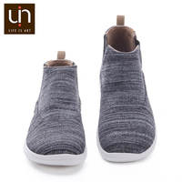 UIN Tengwu Series Warm Kniited Boots for Kids Autumn/Winter Boots Children Slip on Soft Shoes Girls/Boys Super Lightweight