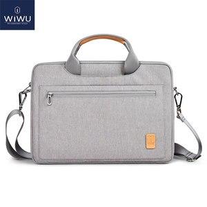 Image 1 - WIWU מקרה תיק מחשב נייד 13 14 15.4 16 מחברת עמיד למים תיק עבור Macbook Air 13 מקרה נשים גברים של כתף תיק עבור MacBook Pro 16