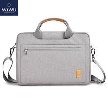 Bolsa para notebook WIWU impermeável, capa portátil com alça para notebook 13 14 15.4 16 MacBook Air 13 MacBook Pro 16(China)
