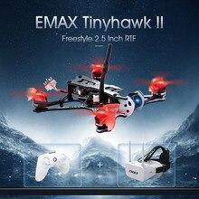 Emax Tinyhawk II 2.5-дюймовый FPV гоночный Дрон с камерой Frsky RunCam Frsky D8 F4 Контроллер полета 200 мВт VTX TH1103 7000KV двигатель
