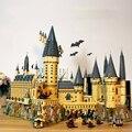 Harryed cerâmica hogwart 71043 castelo blocos de construção escola mágica filme diy tijolos modelo brinquedos para crianças presente