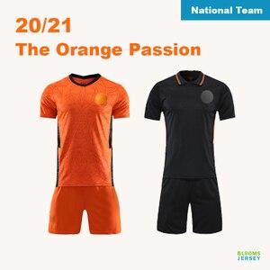 Voetbal shirt national football Kit 20/21 Custom National Team Football Jersey Netherlands Football Kit for Kids Adults