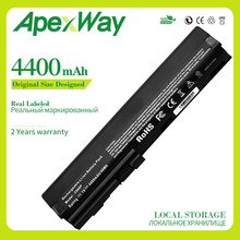 Apexway 4400 mAh dizüstü HP için batarya 632015-542 632016-542 632417-001 HSTNN-UB2L QK644AA SX06XL için EliteBook 2560p 2570