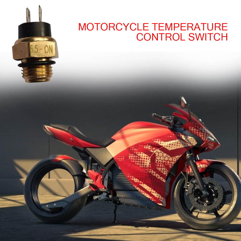 Motorcycle Electric Radiator Coolant Fan Water Temperature Thermostat Switch Temp Sensor M16 Accessories New For 200 250 400 450