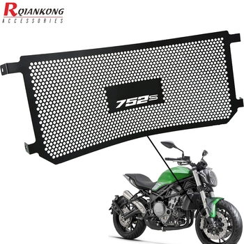 For benelli 752s 2018-2019 Motorcycle Radiator Grille Guard Cover Motorbike CNC Aluninum Water Tank Protector 752 S 2018 2019 for triumph street triple r s rs 2017 2018 2019 2020 streettriple streettriplers radiator grille guard protector cover motorbike