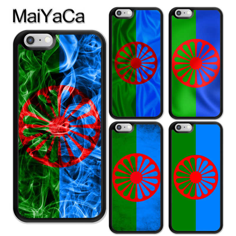 Gypsy Romani Roma Flag Phone Case For iPhone 12 Pro mini 11 Pro Max XS X XR 6S 7 8 Plus SE 2020 Cover