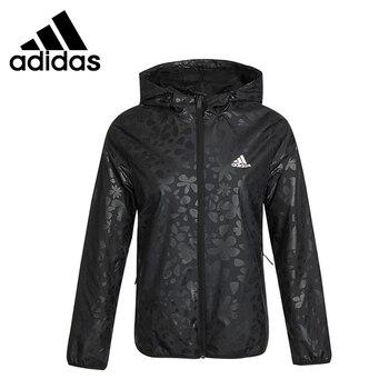 Original New Arrival Adidas WB AOP W Women's jacket Hooded Sportswear 1
