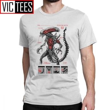 Alien Covenant 2020-Camiseta de algodón para hombre, camiseta divertida con cuello redondo,...