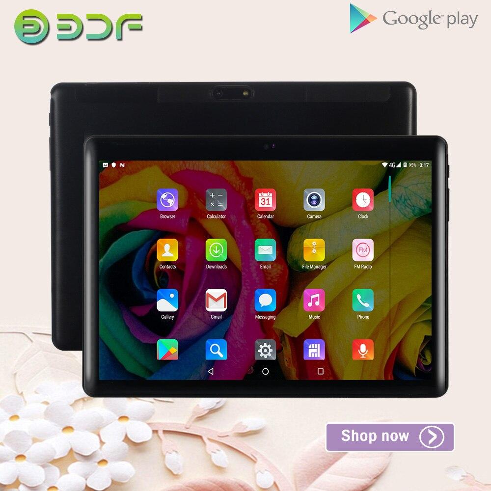 10 pouces tablettes Pc Android 7.0 double carte SIM 3G Quad Core 1G RAM 32G ROM WiFi Bluetooth carte Sim GPS Google Store tablette