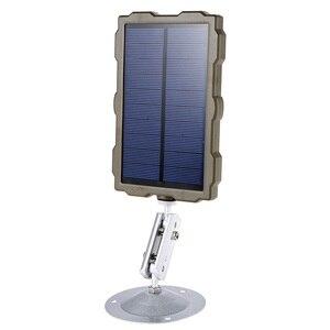 Image 4 - מלא חיצוני ציד מצלמה סוללה פנל סולארי כוח מטען חיצוני לוח חשמל עבור Wild מצלמה תמונה מלכודות H801 h885 H9 H3 H