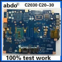 Para C20-30 cpu 3805u placa-mãe apto para lenovo aiai0 LA-B691P c2030 tudo-em-um placa-mãe