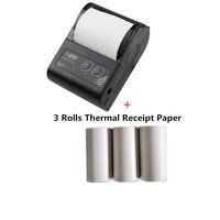 GOOJPRT 58MM Mini Bluetooth Printer Thermal Portable Wireless Receipt Bill Ticket Android iOS Pocket Printer Pocket For Logistic