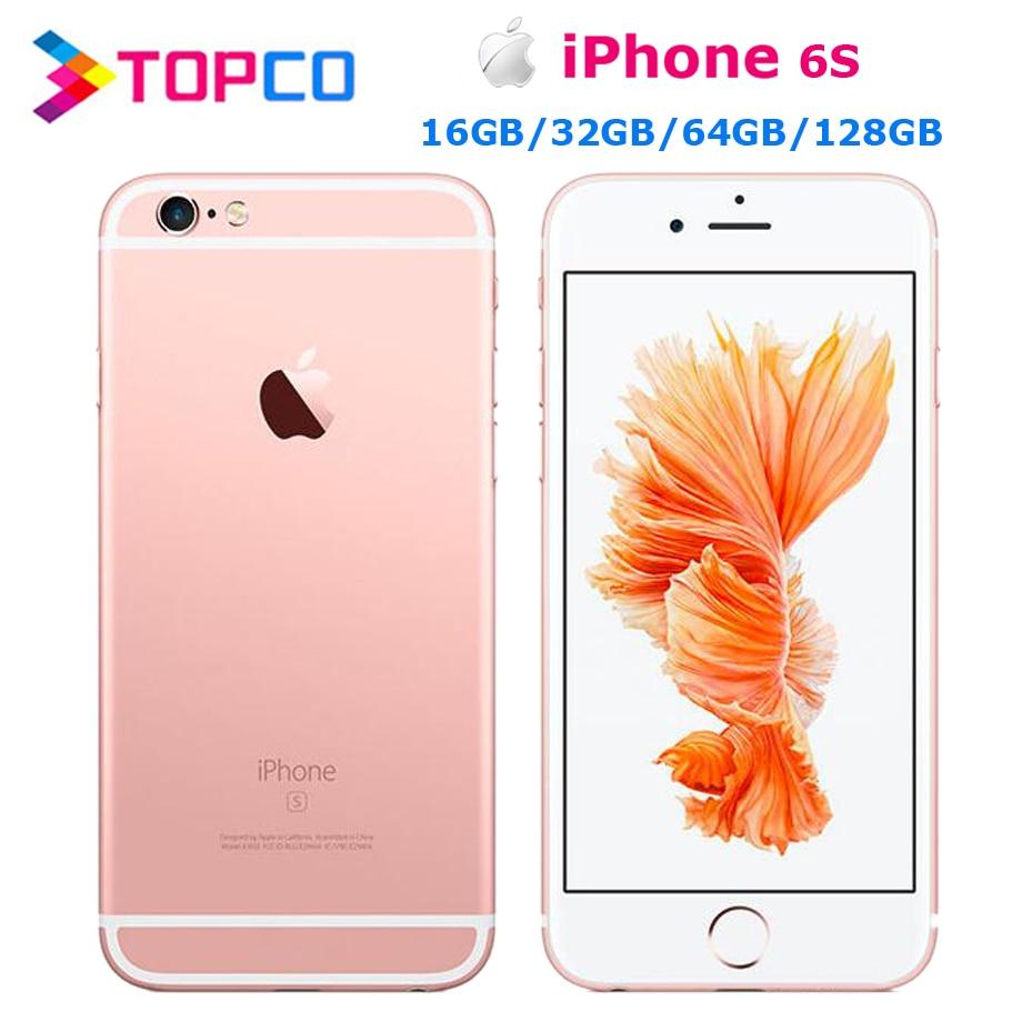 Apple iPhone 6s bez simlocka oryginalny telefon komórkowy 4G LTE 4.7