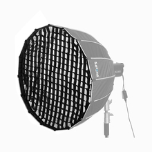 ハニカムグリッド selens 90 センチメートル 120 センチメートル 150 センチメートル 190 センチメートル 16 ロッド hexadecagon 傘ソフトボックス深い放物線スタジオライト修飾子