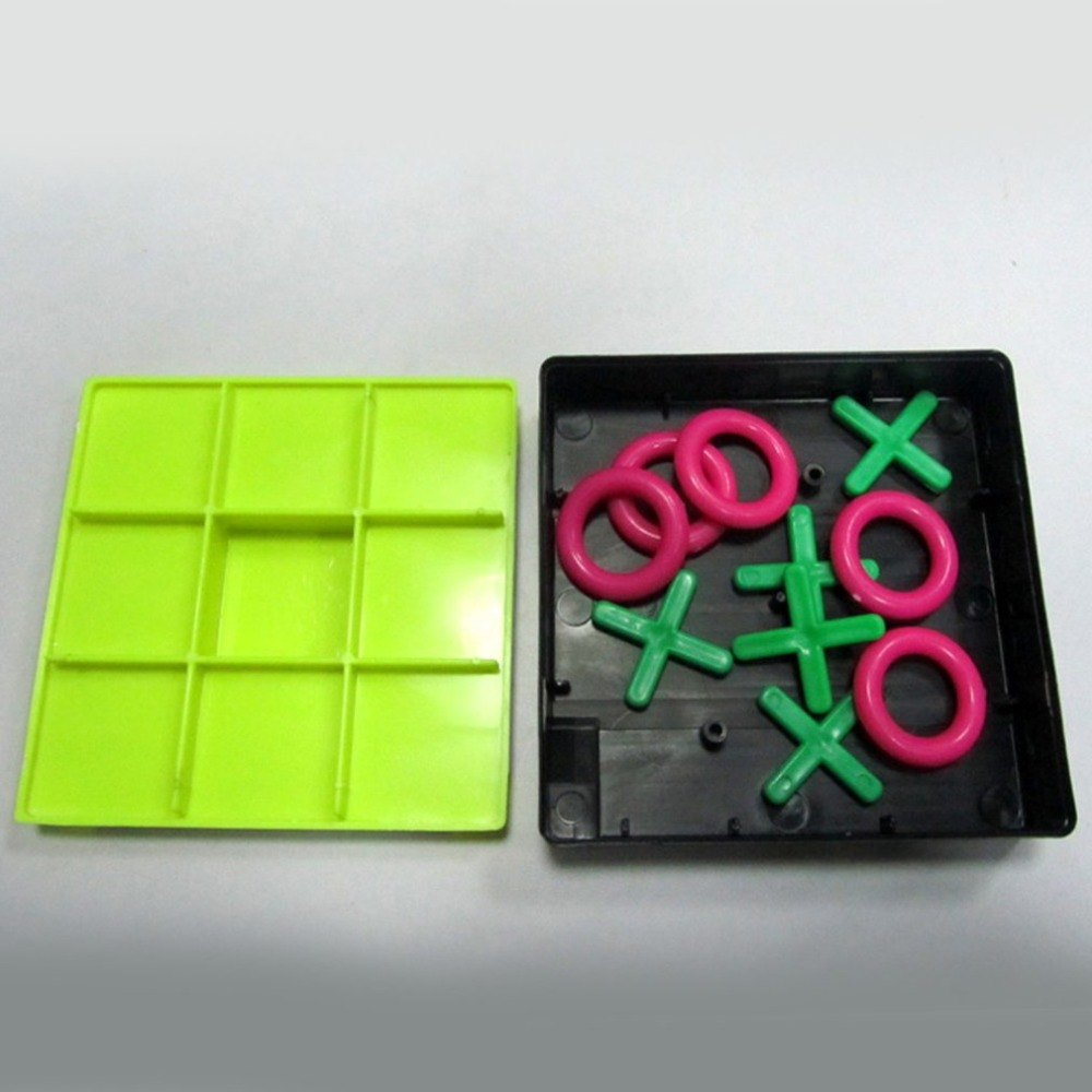 Hot Sale Parent-Child Interaction Leisure Board Game OX Chess Funny Developing Intelligent Educational Toys
