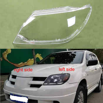 For MITSUBISHI Outlander 2004 2005 2006 Headlight Cover Lamp Shade Headlights Shell Lampshade Headlamp Glass Headlight Lens - DISCOUNT ITEM  15% OFF All Category