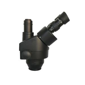 Image 4 - 3.5X  90X simul fokal trinoküler Stereo mikroskop industrial13MP HDMI VGA dijital microscopio kamera PCB çantası lehim pad mat