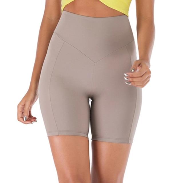 Woman Spandex Yoga Shorts  1