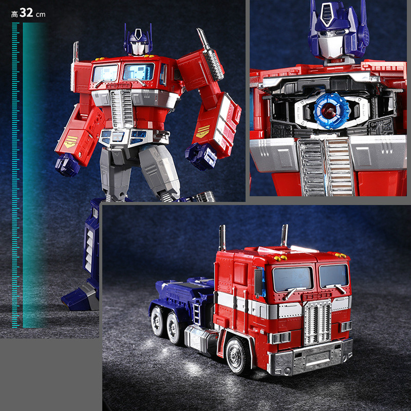 32cm Metal Model Transformation G1 Robot Toy Alloy mmp10 Commander Diecast Collection Action Figure For Kids Gift