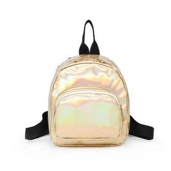 Mochila Feminina Small Backpack Women Laser Backpack School Bag Leather Holographic Backpack Rucksack Sac A Dos